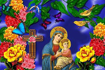 Tháng Mân Côi: Chia Vui cùng Mẹ Maria